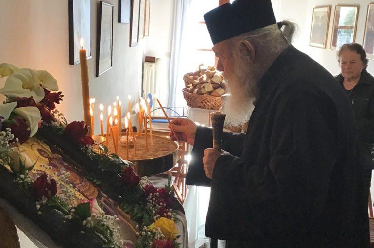 Ο Αρχιεπίσκοπος στην Ι. Μονή των Αγίων Θεοδώρων στη Ζάλτσα