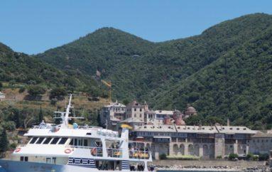 Άγιον Όρος: Σε καραντίνα 50 προσκυνητές που επέβαιναν στο ίδιο καράβι με τον μοναχό