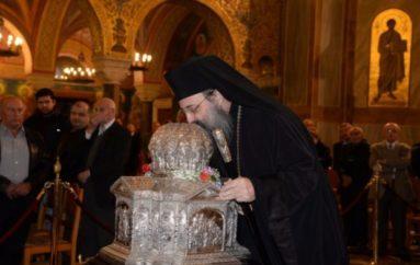 Αδιάλειπτος Παράκληση στην Κάρα του Αγίου Ανδρέου για τον κορονοϊό