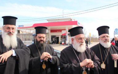 Στις Καστανιές Έβρου οι τέσσερις Μητροπολίτες της Θράκης