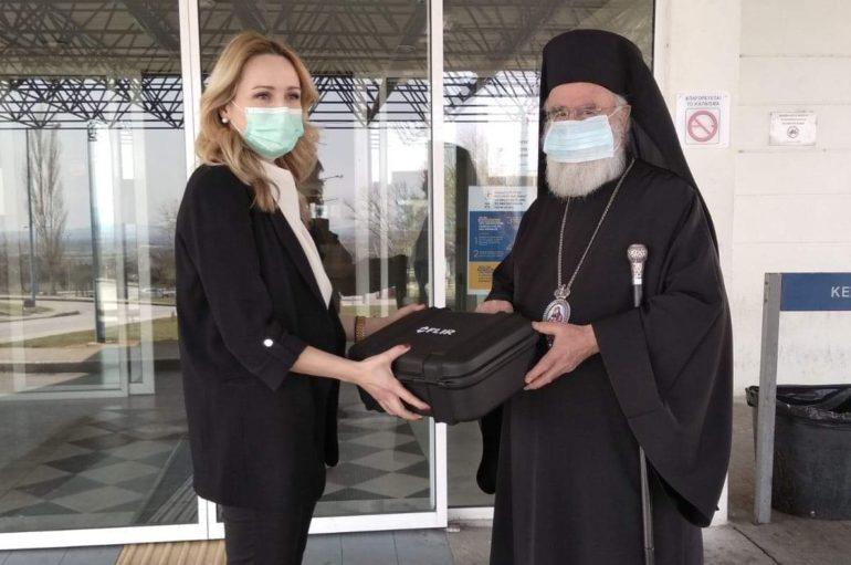 Επίσκεψη του Μητροπολίτη Παντελεήμονα στο Νοσοκομείο Ξάνθης