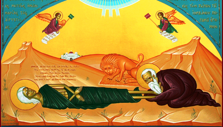 Η ζωή της Μαρίας Αιγυπτίας ως απάντηση στη δοκιμασία των πιστών λόγω πανδημίας