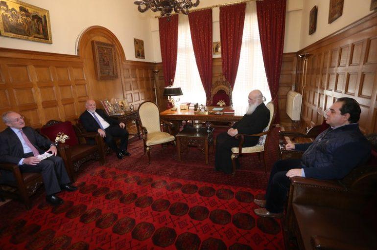 Η Τράπεζα Αττικής στηρίζει το έργο της Αρχιεπισκοπής για τους άστεγους