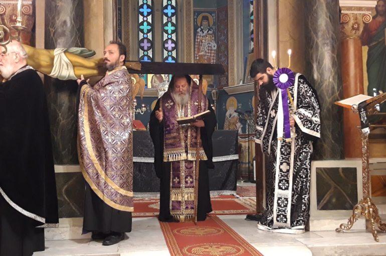 Η Ακολουθία των Παθών στον Ι. Ναό Αγίου Διονυσίου Πατρών