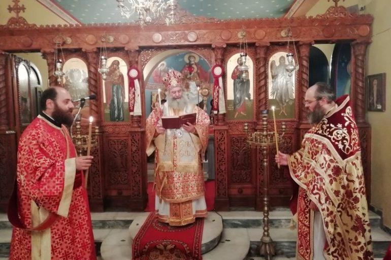 Ο εορτασμός της Αναστάσεως στο Επισκοπείο της Ι. Μ. Μάνης