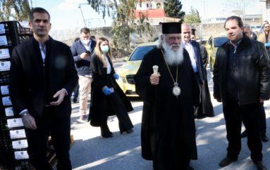 Χιλιάδες δέματα αγάπης από την Αρχιεπισκοπή και το Δήμο Αθηναίων
