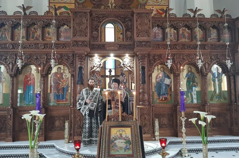 Η Ακολουθία του Νιπτήρος στον Ι. Ναό Αγίας Μαρίνης Πατρών