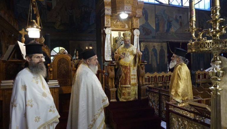 Η εορτή του Αγίου Γεωργίου στην Ι. Μ. Θεσσαλιώτιδος