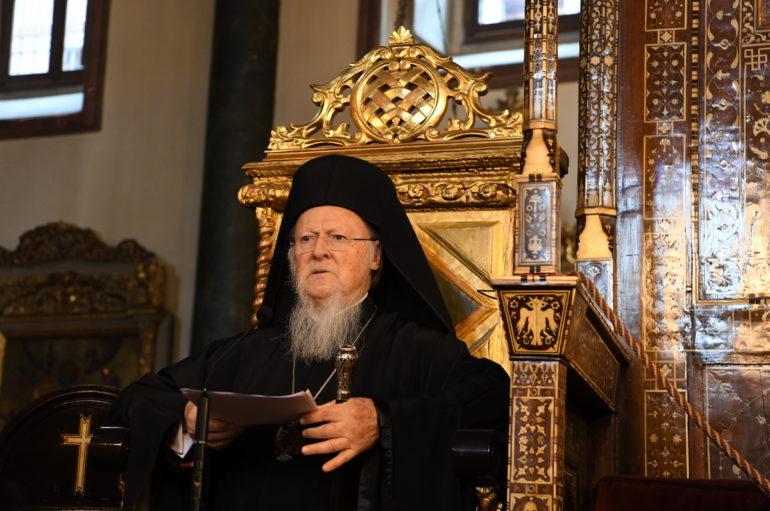 """Οικ. Πατριάρχης: """"Η κρίση ανέδειξε την δύναμη και την αξία της αγάπης"""""""