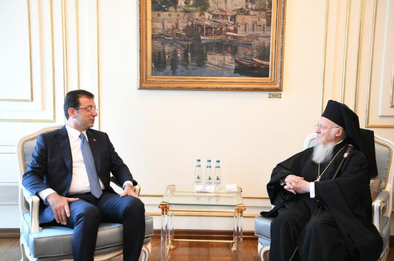 Ευχές πολιτικών της Τουρκίας προς τον Οικ. Πατριάρχη για το Πάσχα