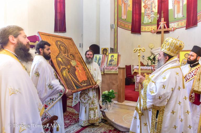 Εορτή ευρέσεως της Παναγίας Πορταΐτισσας στην Ι. Μ. Λαγκαδά