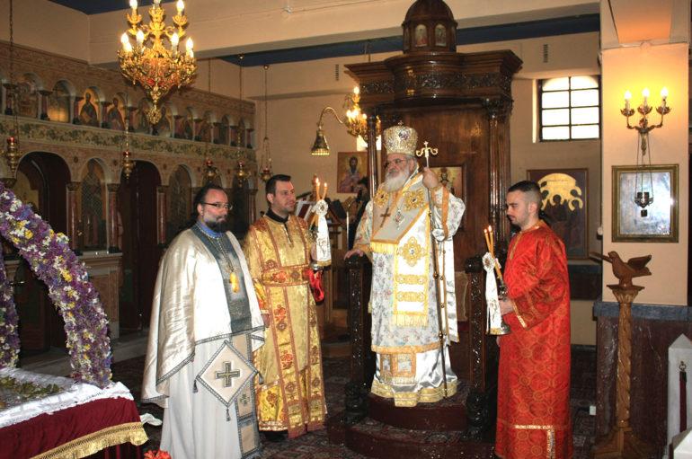 Μνήμη Αρχιεπισκόπου Χριστοδούλου στην εορτή του Αγίου Γεωργίου