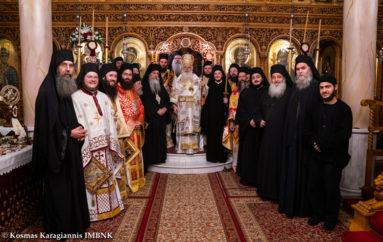 Πανηγύρισε η Ιερά Μονή Παναγίας Δοβρά Βεροίας