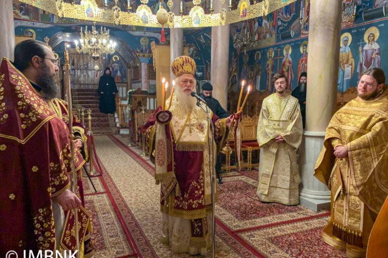 Ε΄ Κυριακή των Νηστειών στην Ι. Μονή Παναγίας Δοβρά Βεροίας