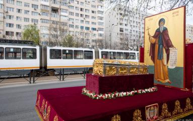 Το Λείψανο του Αγίου Δημητρίου του Νέου λιτάνευσαν στο Βουκουρέστι