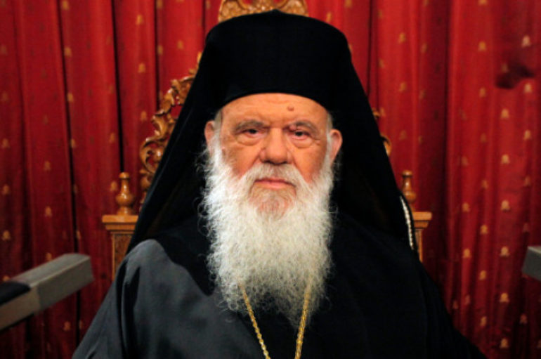 Πασχάλιο Μήνυμα του Αρχιεπισκόπου Αθηνών Ιερωνύμου