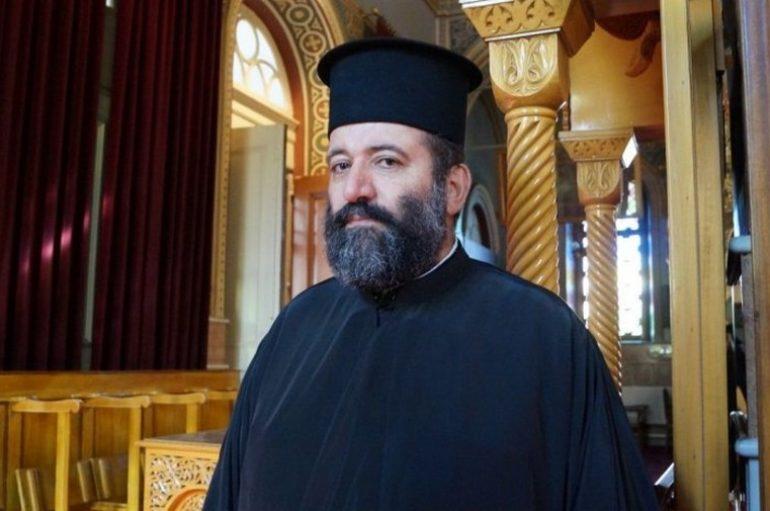 """π. Γεώργιος Κωνσταντίνου: """"Θα εργαστούμε για την τήρηση των μέτρων"""""""