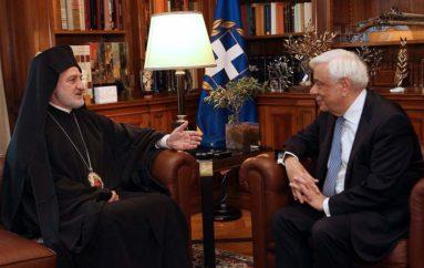 Επικοινωνία Παυλόπουλου με τον Αρχιεπίσκοπο Αμερικής