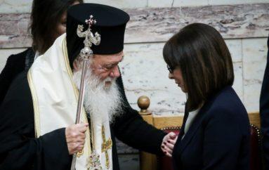 Ευχές για ταχεία ανάρρωση από την ΠτΔ στον Αρχιεπίσκοπο Ιερώνυμο