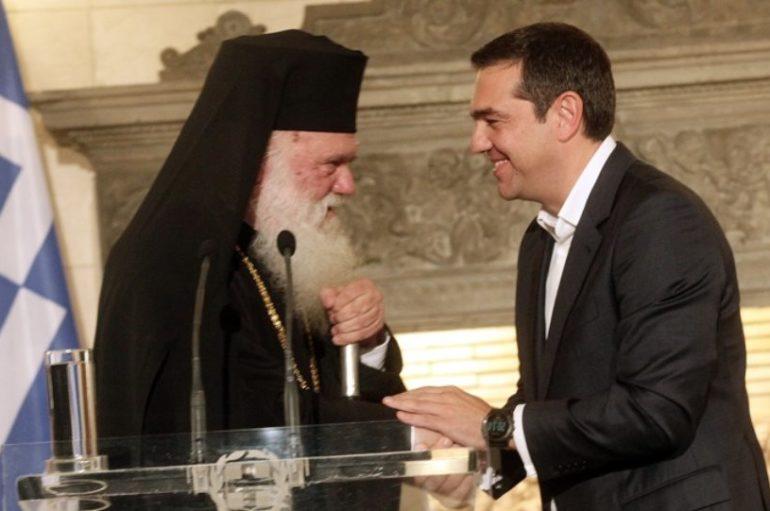 Ευχές Τσίπρα σε Αρχιεπίσκοπο για ταχεία ανάρρωση
