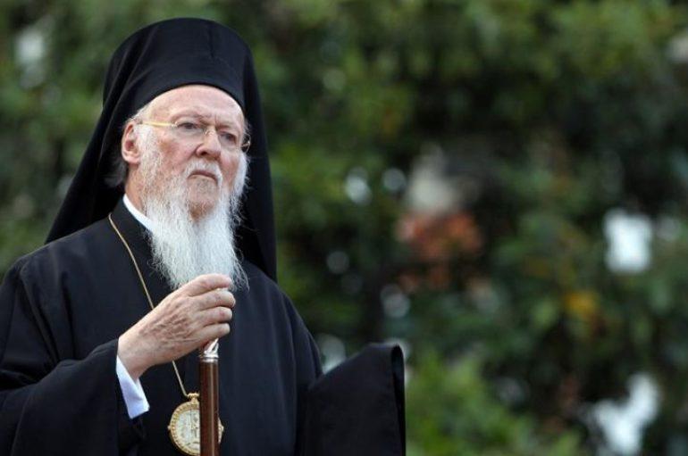Ευχές προς τον Οικ. Πατριάρχη για το Άγιον Πάσχα