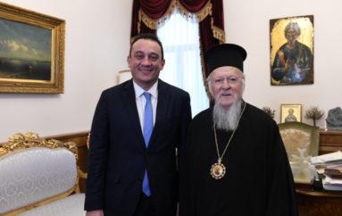 Επικοινωνία ΥΦΥΠΕΞ Βλάση με τον Οικουμενικό Πατριάρχη Βαρθολομαίο