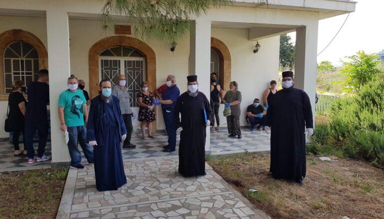Η Μητρόπολη Χίου διένειμε τρόφιμα σε 300 οικογένειες με ανήλικα παιδιά