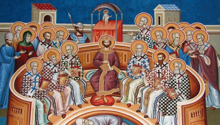 Κυριακή των Αγίων Πατέρων της Α΄ Οικουμενικής Συνόδου
