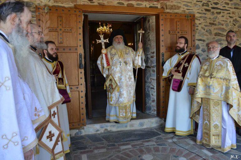 Κυριακή του Παραλύτου στην Ιερά Μητρόπολη Νεαπόλεως