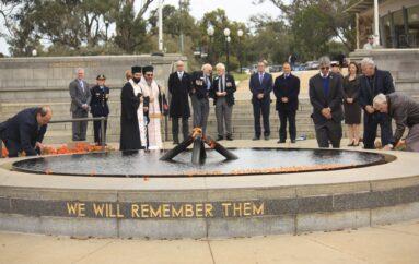 Η 79η επέτειος της Μάχης της Κρήτης τιμήθηκε στην Πέρθη της Αυστραλίας