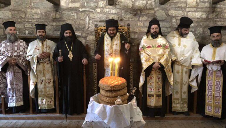 Πανηγύρισε η Ιερά Μονή Παναγίας «Πελεκητής» Καρύτσας Δολόπων