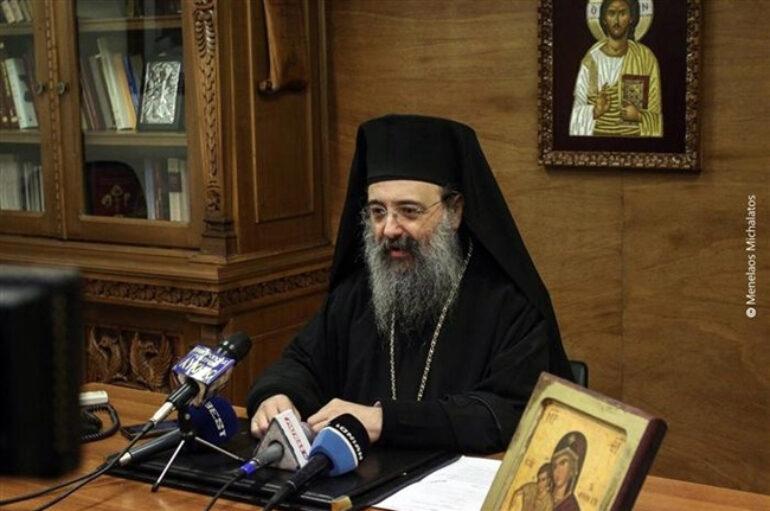 """Πατρών Χρυσόστομος: """"Κανείς δεν έχει δικαίωμα να διακωμωδεί την πίστη μας"""""""