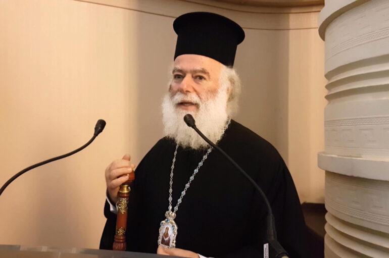 Μήνυμα συμπαράστασης του Πατριάρχη Αλεξανδρείας για την επίθεση στο Βόρειο Σινά