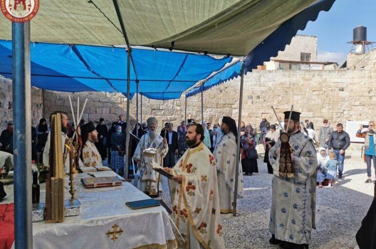 Η εορτή της Αναλήψεως του Κυρίου στο Όρος των Ελαιών