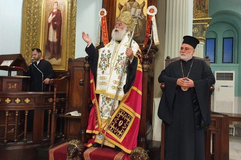 Πατριαρχικός Εσπερινός των Αγ. Κωνσταντίνου και Ελένης στο Κάιρο