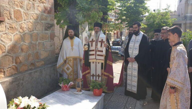 Επιμνημόσυνη Δέηση από τον Μητροπολίτη Αλεξανδρουπόλεως σε προκάτοχό του