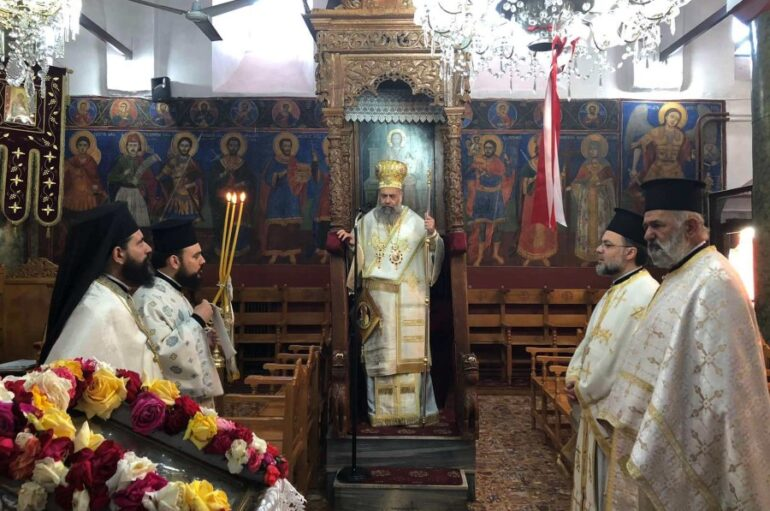 Εορτή του Αγίου Ιωάννου του Θεολόγου στην Ι. Μ. Θεσσαλιώτιδος
