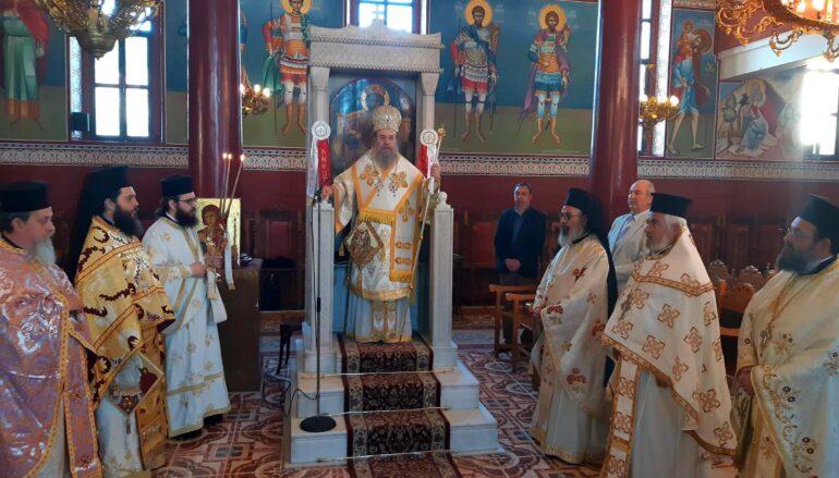 Η Νέα Μάδυτος τίμησε τον Πολιούχο της Άγιο Ευθύμιο τον Μυροβλύτη