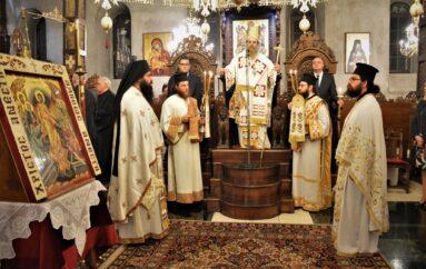 Ο εορτασμός Αποδόσεως του Πάσχα στην Ι. Μητρόπολη Ιερισσού