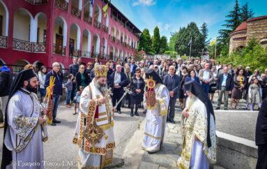 Η εορτή της Αναλήψεως στην Ι. Μονή Παντοκράτορος Μελισσοχωρίου