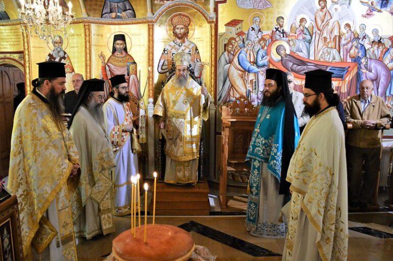 Η μνήμη Αλώσεως της Κωνσταντινούπολης στην Ι. Μ. Ιερισσού