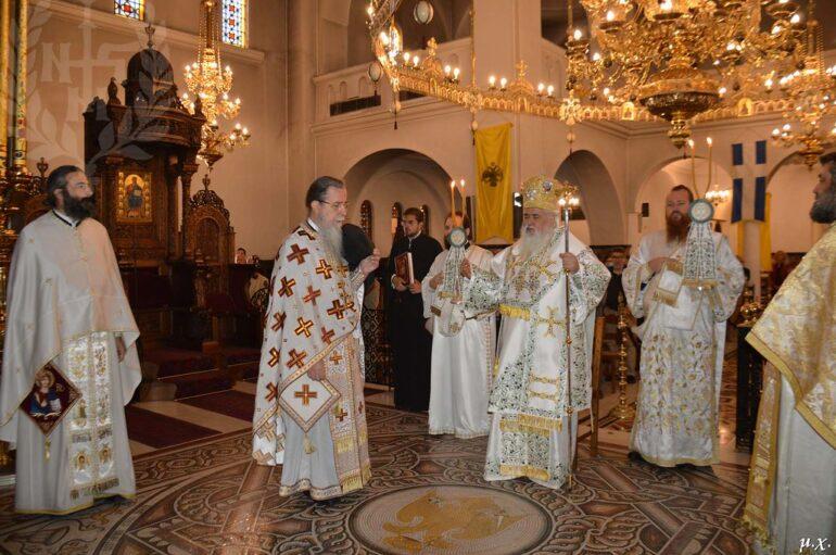 Κυριακή των Αγίων Πατέρων στην Ιερά Μητρόπολη Νεαπόλεως