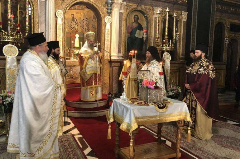 Η Καρδίτσα πανηγύρισε τον Πολιούχο της Άγιο Σεραφείμ Επίσκοπο Φαναρίου