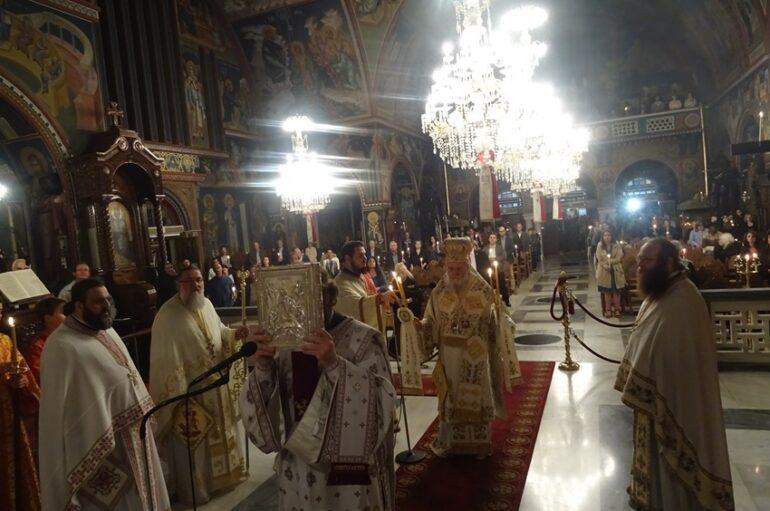Η Απόδοση του Πάσχα στην Ιερά Μητρόπολη Κορίνθου