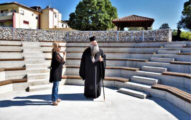 Ολοκληρώθηκε υπαίθριο αμφιθέατρο στα Εκκλ. Ιδρύματα της Ι. Μ. Κίτρους