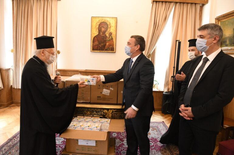 Η Κυβέρνηση της Ουγγαρίας πρόσφερε 10.000 μάσκες στο Οικ. Πατριαρχείο