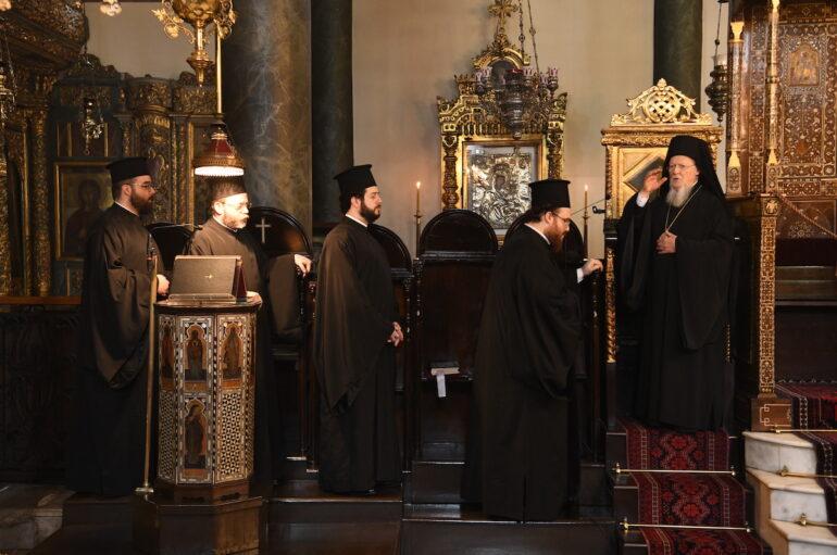Η εορτή των Αγίων Κωνσταντίνου και Ελένης στο Οικ. Πατριαρχείο
