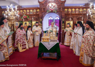 Εορτή Μετακομιδής Λειψάνων του Αγ. Λουκά του Ιατρού στην Ι. Μ. Βεροίας