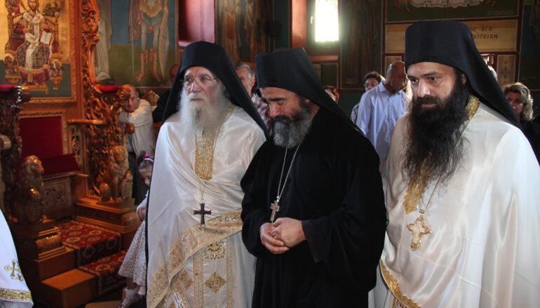 Χειροθεσία Καθηγουμένου στην Ιερά Μονή Τιμίου Προδρόμου Δεσφίνας