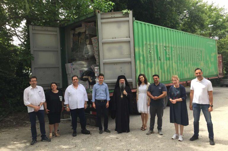 Ο Πατραϊκός λαός ενισχύει την Ιερά Μητρόπολη Κανάγκας